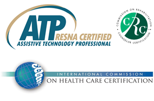Certified Assistive Technology Professional. Commission on Rehabilitation. International Commission on health Care Certification